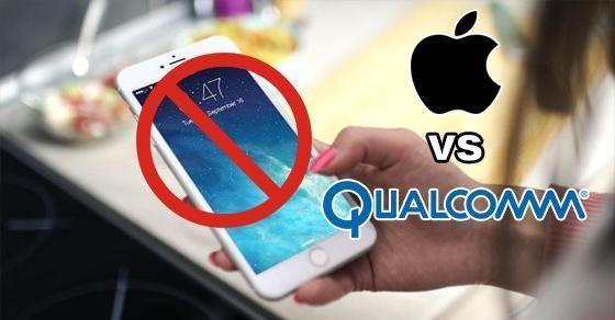 高通开始向法院申请希望禁止苹果新iPhone在各...