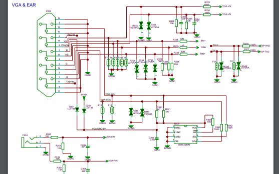 TCL L42M9HBD液晶42寸彩色电视机电路原理图的资料免费下载