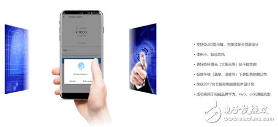 屏幕指纹识别技术 轻触为你解锁视界