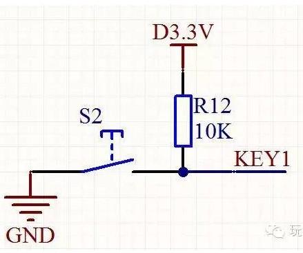 如何将单片机的上拉电阻配置为上拉输入模式