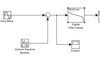 如何利用FDATool进行IIR数字滤波器的设计以及仿真实验