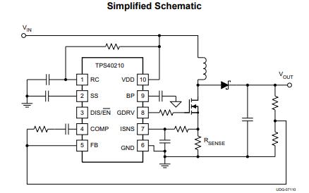 TPS40210和TPS40211升压控制器的数据手册免费下载