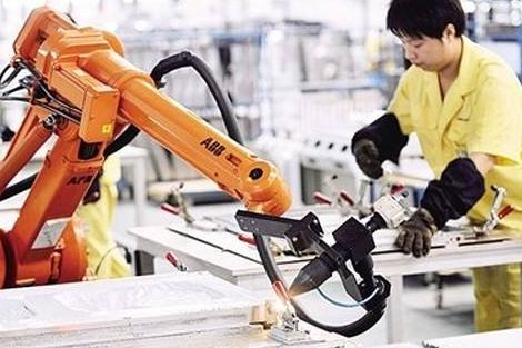 韩国工业机器人普及率占据了全球第一位