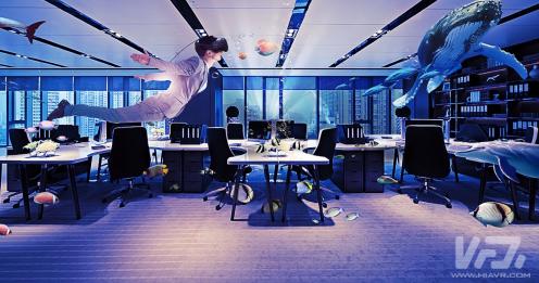 VR在办公领域的应用具有非常多的可见的利益