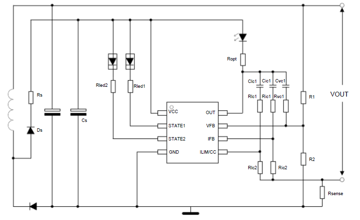HB5900电池充电器和适配器的恒压恒流控制器的详细数据手册免费下载