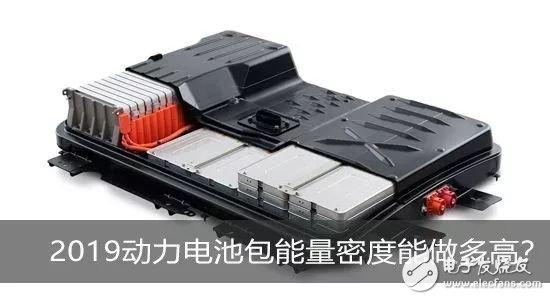 2019年动力电池能做到多高能量密度