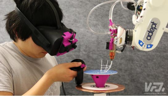 机器人助手利用AR中进行3D打印过程浅析