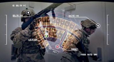 AR光波导军用头盔完成首批生产 大大提升了士兵的信息处理效率