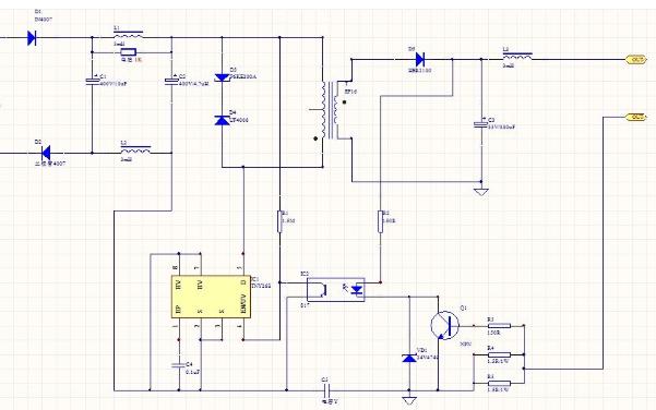 由TEA1522T构成的3w精密开关电源PCB和电路原理图的资料合集免费下载