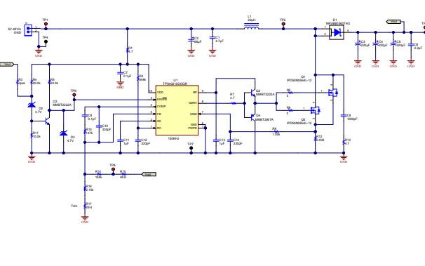 TPS40210电路原理图详细资料免费下载
