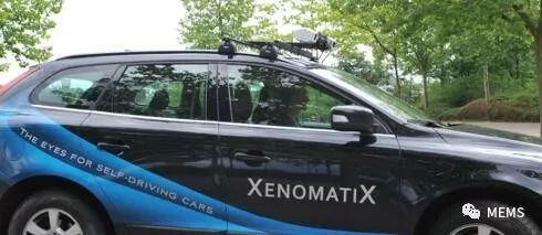XenomatiX激光雷达技术推动自动驾驶革命