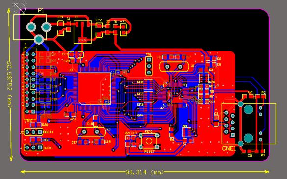 STM32单片机PCB源文件详细资料免费下载