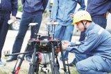 最新型的多旋翼激光雷达和红外无人机实现配网首航