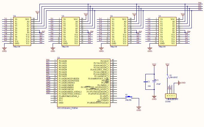 使用单片机设计888光立方的资料合集包括软件,源代码,原理图等