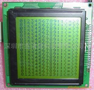MSP430单片机对12864液晶模块显示的测试设计