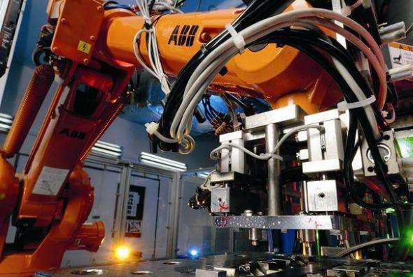 ABB机器人制造过程大揭秘