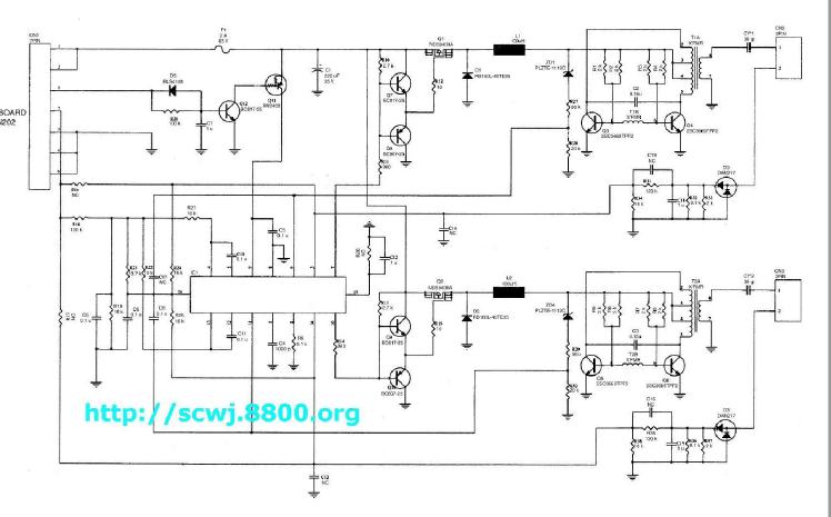 液晶电视高压板电路图集合免费下载