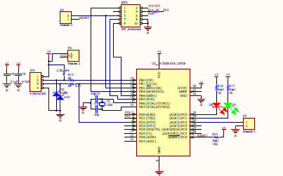 自制51单片机学习板的开发源程序和电路原理图资料免费下载