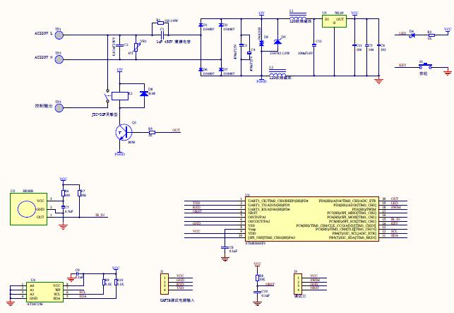 使用STM8单片机设计的红外遥控器解码的程序电路图芯片资料免费下载