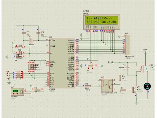 51单片机对智能温控器的设计