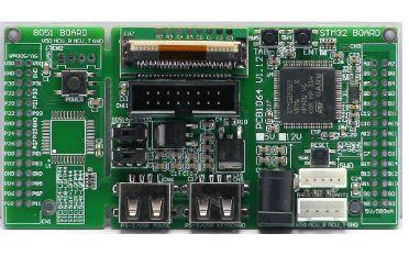 如何利用STM32单片机串口发送字符串