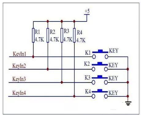详细解析单片机按键复位电路原理和电路图