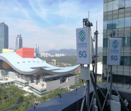 广东移动携手华为成功实现Sub 6GHz双载波峰值速率测试