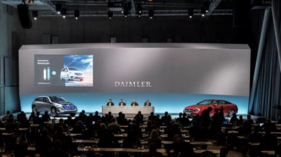 戴姆勒开展200亿欧元的投资计划 全力押注电动车
