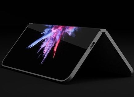 微软全新折叠屏专利曝光将屏幕打开可当做笔记本或是平板使用
