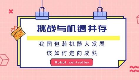 我国包装机器人发展要想走向成熟还需企业政府行业三方面共同努力