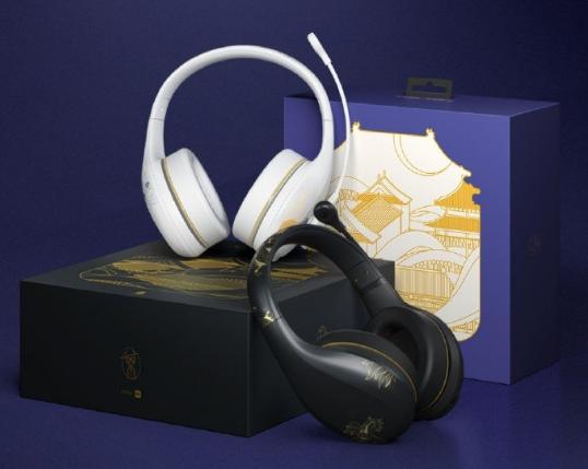 小米蓝牙耳机故宫特别版在设计上搭配故宫元素 支持三种混响效果