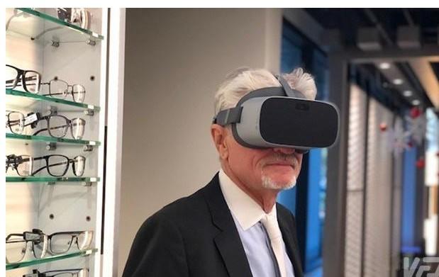 Pico于NuEyes联合为视障人士发布了一款VR一体机设备