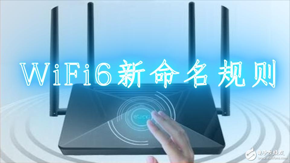 WiFi6新命名规则