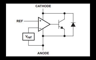 TL431和TL431A可调式精密分流调节器的数据手册免费下载