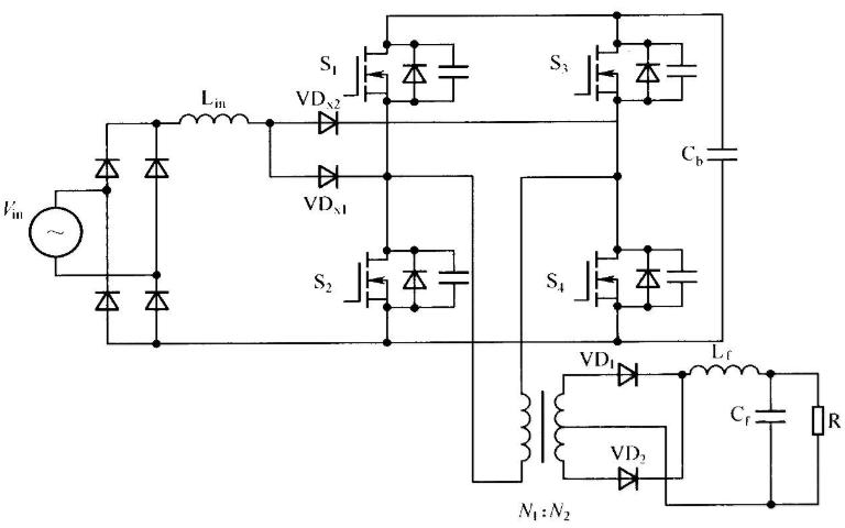 ZVS PWM全桥变换器的变压器选择和电感电容的计算资料免费下载