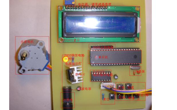 51单片机控制LCD1602模块结构图和使用说明免费下载
