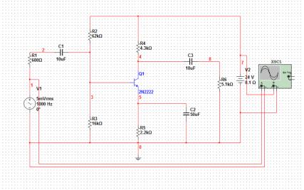 晶体管放大器的设计和仿真资料说明