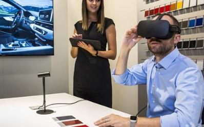 奥迪正在进行将VR可视化引入经销商的工作