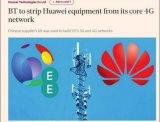 英国电信集团已将华为排除出其核心5G网络设备供应合同的竞标名单