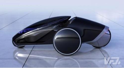 丰田FV2概念车融入了增强现实技术 提升用户的驾驶体验和乐趣