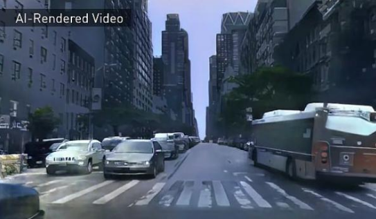 英伟达再出新研究成果 可以渲染合成交互式3D环境的AI技术