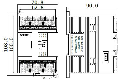 XD和XL系列可编程控制器的规格参数和输入输出接线及运行维护的说明