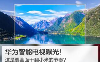 华为智能电视计划曝光 6个月将推向市场