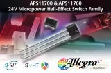 Allegro近日宣布推出微功率霍尔�K效应开关系列APS11700/760