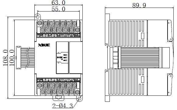XD系列PLC扩展模块的用户手册免费下载