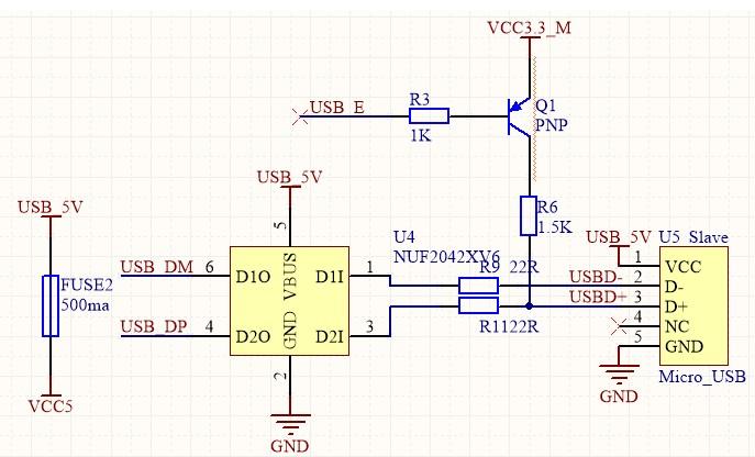 STM32F105系列单片机对USB设备电路的设计
