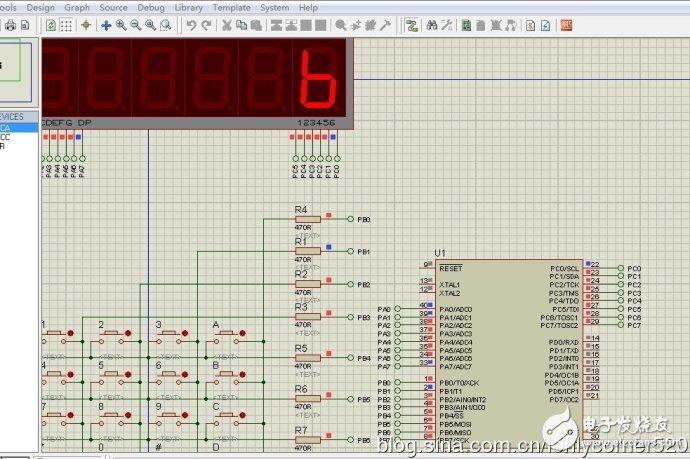 ATMEGA16单片机I0端口的使用方法解析