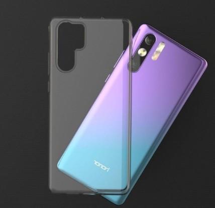 荣耀V20背部曝光采用了变色设计由紫色自然过渡到蓝色优雅而神秘