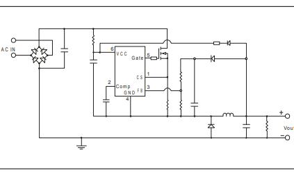 WS6902非隔离高压开关控制器的数据手册免费下载