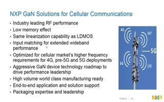 采用GaN技术的蜂窝通讯频段高功率产品应用